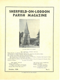 October 1958 (Issue 1)
