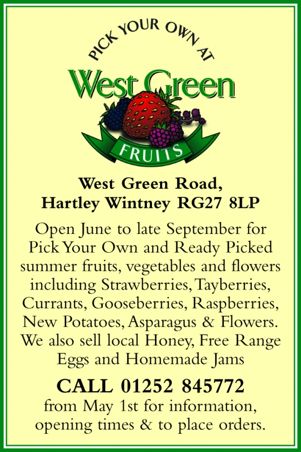 West Green PYO Fruit & Veg