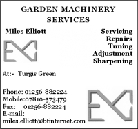 Garden Machinery Services